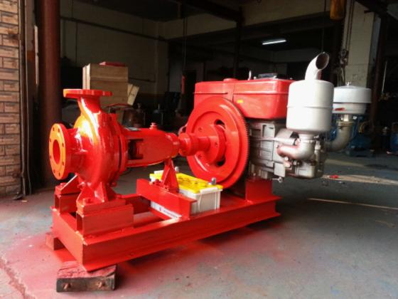 小型离心式柴油机水泵